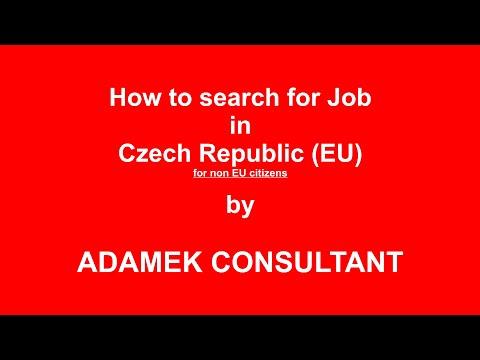 Search a job in Czech Republic