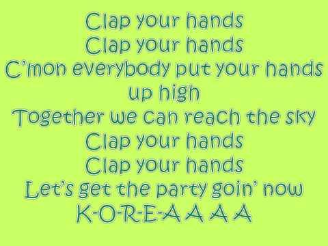 Clap your hands - 2ne1 {english version}