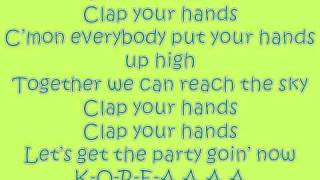 Clap your hands - 2ne1 {english version}