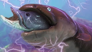 *NEW* GIANT ELECTRIC EEL - Feed and Grow Fish - Part 126 | Pungence