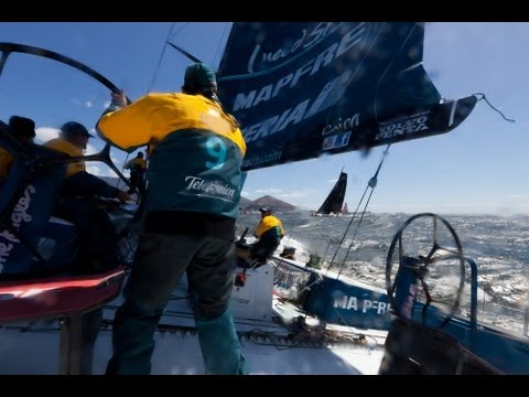 V&A Waterfront Cape Town In-Port Race Full Live Replay| Volvo Ocean Race 2011-12