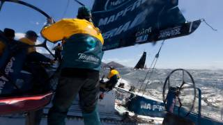 V&A Waterfront Cape Town In-Port Race Full Live Replay  Volvo Ocean Race 2011-12