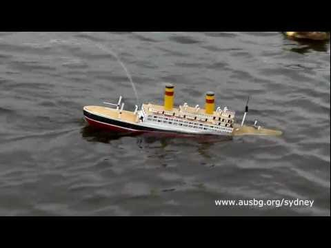 """The sinking of the """"Empress of Britain"""" - Jan 2012 Sydney"""