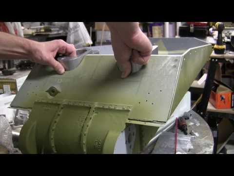 1/6th scale RC Armortek M4A4 sherman tank project video #3 (Lower Hull details)