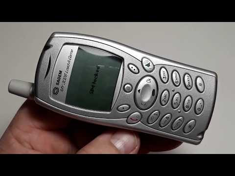 Sagem MY3026 Load A Game оригинал ретро телефон из Германии