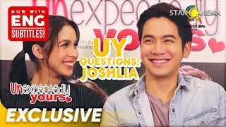'JoshLia' answers 'UY Questions' | 'Unexpectedly Yours'