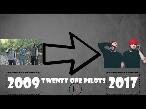Music Evolution Of Twenty One Pilots 2009 2017 Youtube