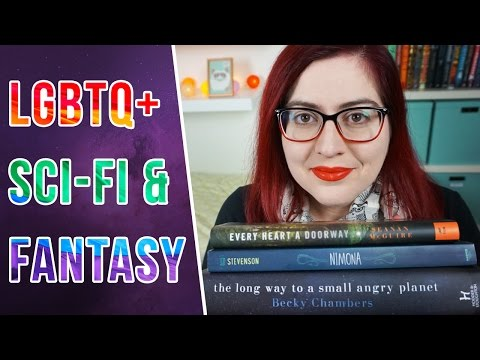 LGBTQ+ Science-Fiction & Fantasy Books – Booktube SFF Babbles – Top 5 Wednesday