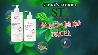Gel Rửa Tay Khô ST Beauty Diệt Vi Khuẩn 99 99% 300ml 500ml l Review Gel Rửa Tay Chất Lượng Tốt