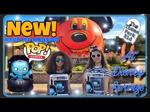 Rides Haunted Mansion Ezra in Buggy #49 Disney Parks Exclusive Figure Funko Pop