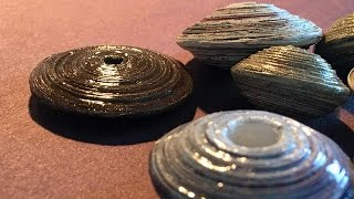 Gambar cover How To Make Saucer Beads Out Of Recycled Paper