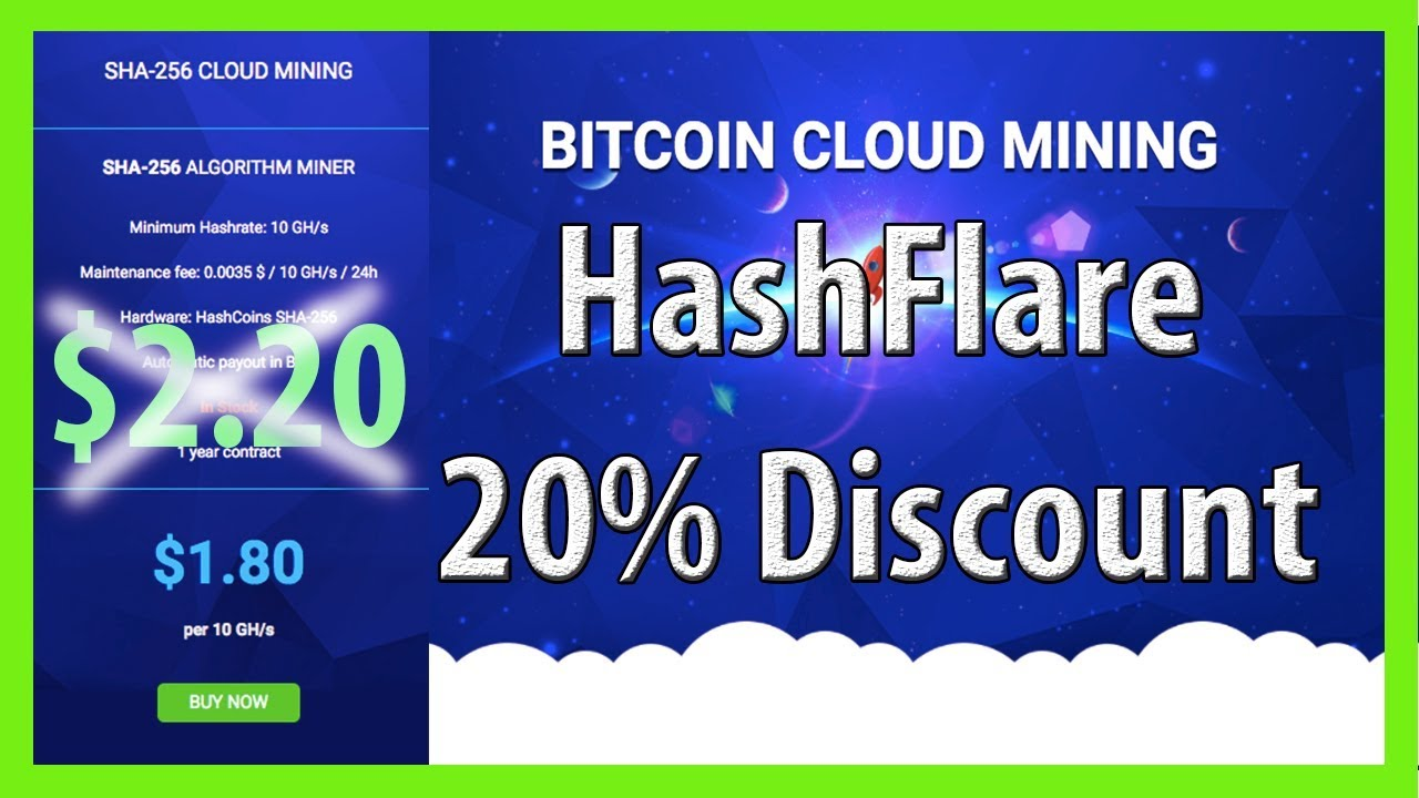 10 Discount Hashflare Best Paying Cloud Mining – Unity One East