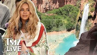 Queen B Controversy At Grand Canyon   TMZ Live