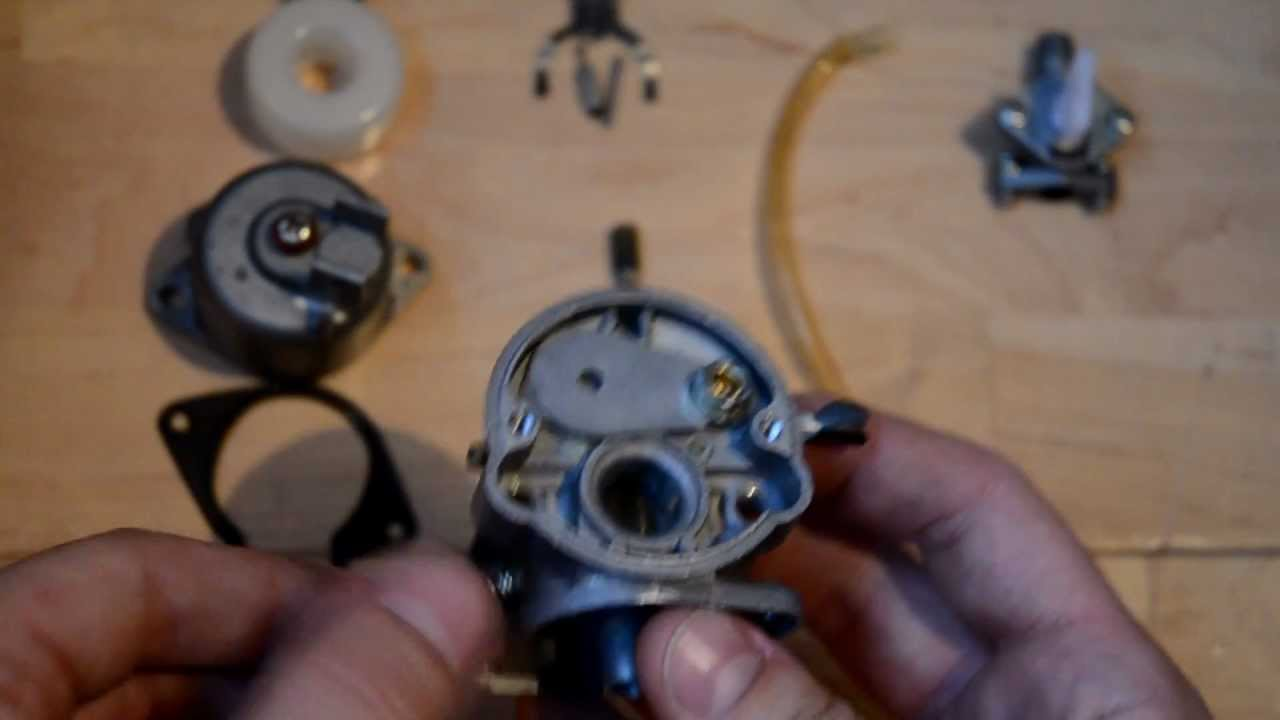 Fix your Mini bike Carb  bogging, cutting out etc  YouTube