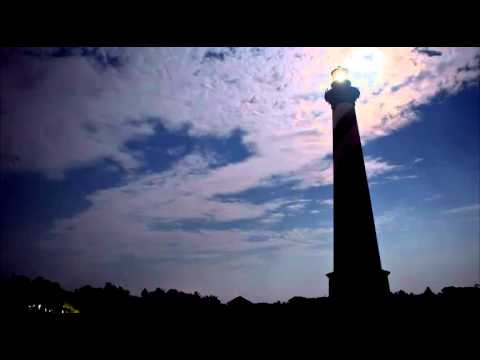 Time Lapse Video of Cape Hatteras Island Lighthouse Outer Banks North Carolina