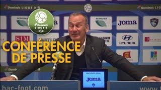 Conférence de presse hac-brest (2-0) / play-off de domino's ligue 2