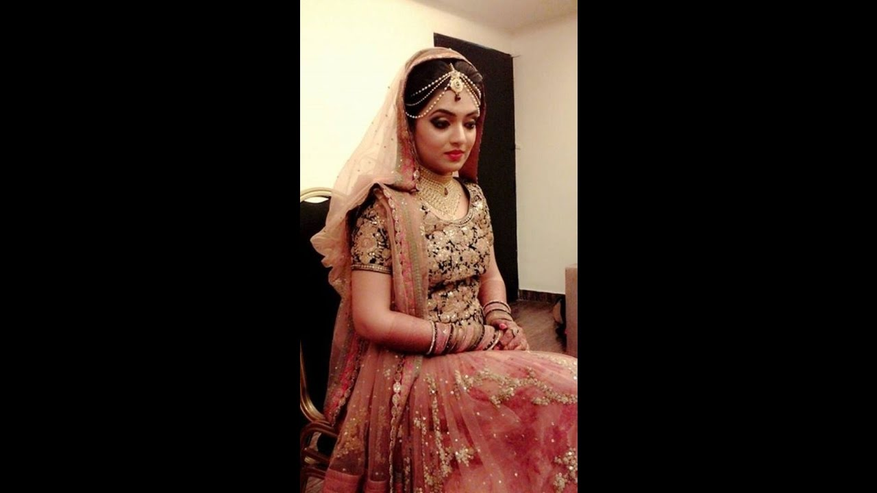 bridal makeup pakistani indian bridal make up and hairstyle for barat walima look by best videos