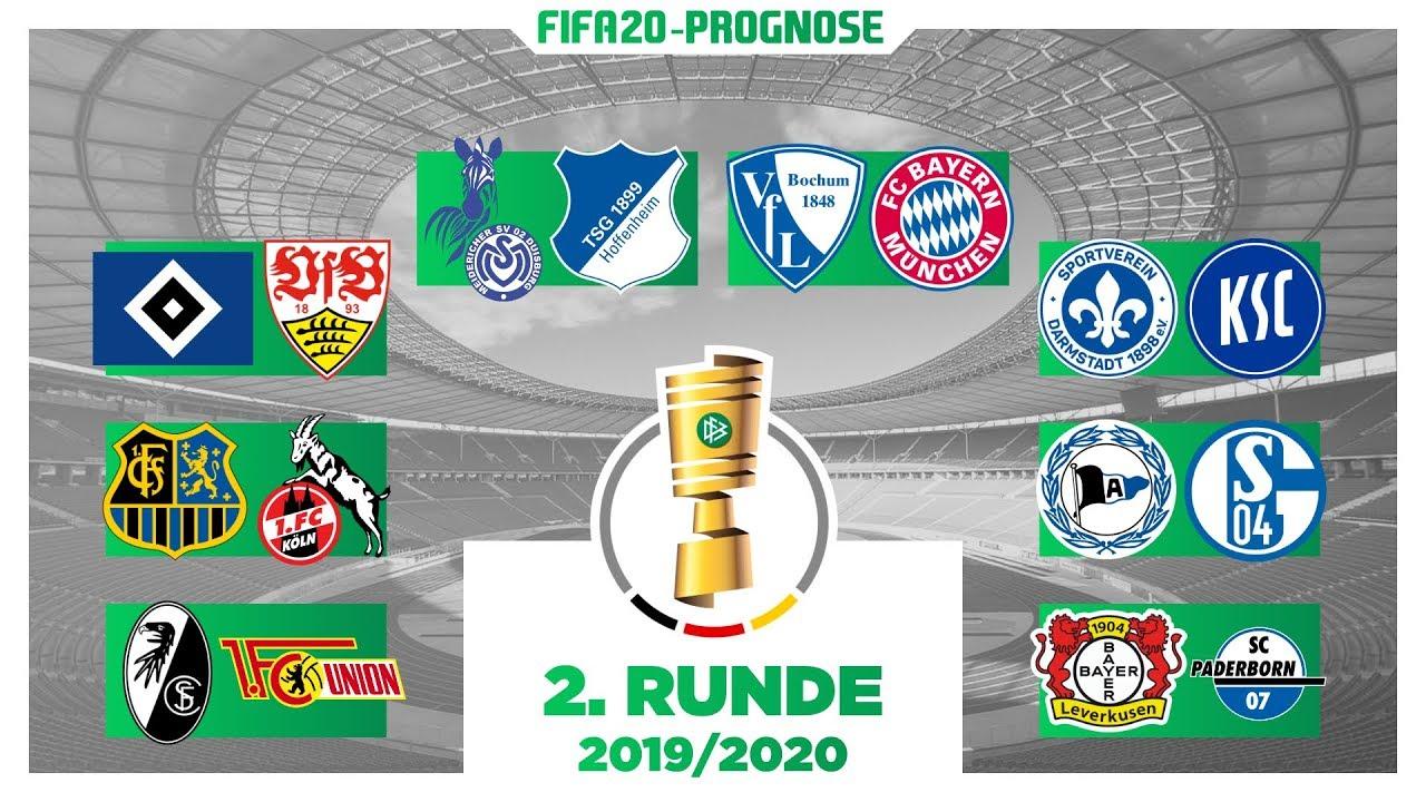 Dfb Pokal 1 Runde 2020