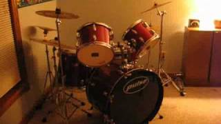 Pulse 5-Piece Drumkit Tour
