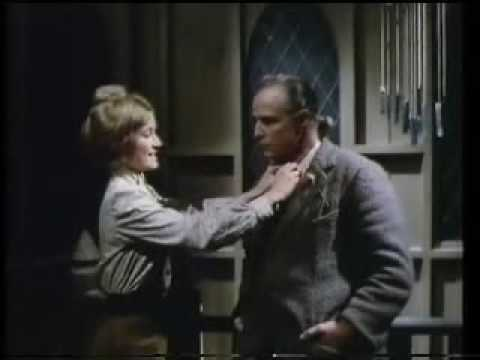 Stephanie Beacham and Marlon Brando in