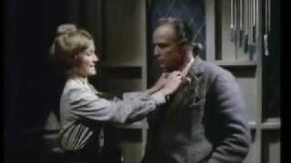 "Stephanie Beacham and Marlon Brando in ""The Nightcomers"""