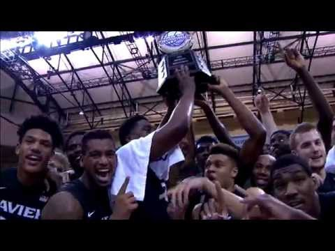 Xavier Musketeers Win 2015 AdvoCare Invitational Tournament
