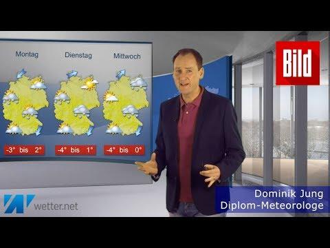 Russische Kältehammer erreicht Deutschland – Wettervorhersage mit  Diplom-Meteorologe Dominik Jung