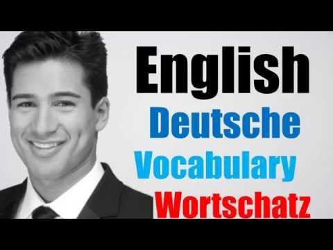 Video#118 Deutsch-Englisch Wortschatz Übersetzung German English Medizinindustrie Berufe Lehrstelle