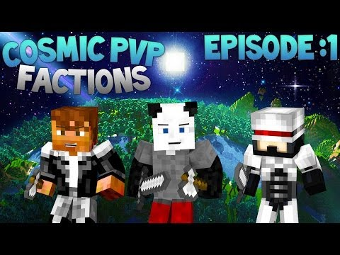 Download minecraft cosmic pvp factions episode 1 first raid