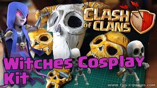 Clash of Clans Witches Cosplay Kit