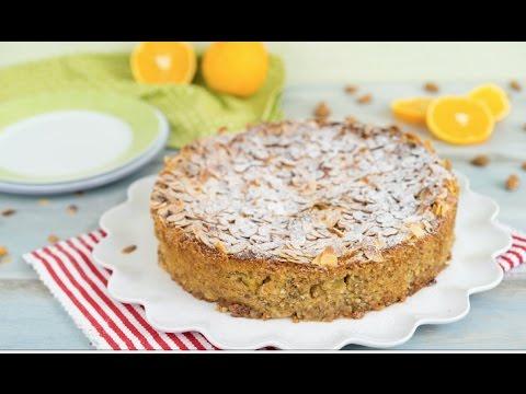 Italienischer Mandelricotta Kuchen Mit Orange Glutenfrei Ohne