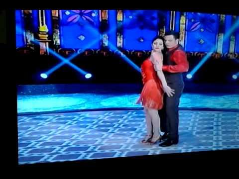 Carol Castro na  Final da Dança dos Famosos 2013-
