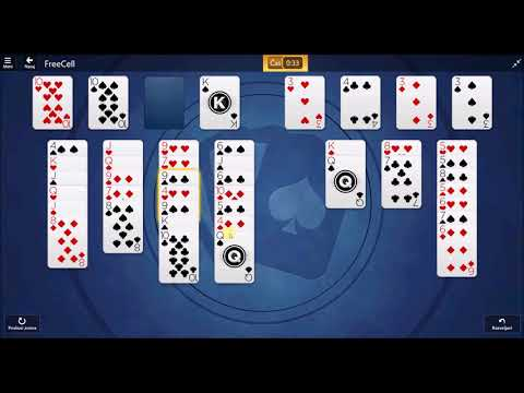 Microsoft Solitaire Collection - FreeCell September 12 2017