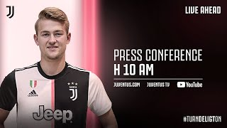 🔴 LIVE | Matthijs de Ligt's introductory press conference!
