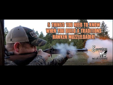 5 Things You Should Know While Building Traditions Hawken Muzzleloader Kit.