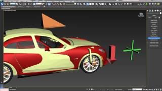 3Ds Max 2013 анимация авто