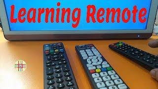 How to Configure and Use Learning Remote Control. Complete Video Tutorial Guide in Urdu/Hindi