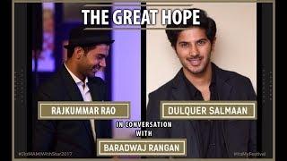 Dulquer Salmaan and Rajkummar Rao | Baradwaj Rangan | Jio MAMI With Star 2017