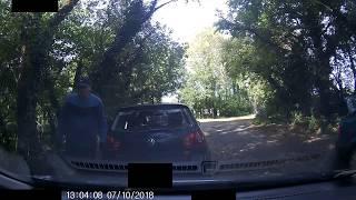Car thief break in, Northwood, Slindon, Arundel West Sussex
