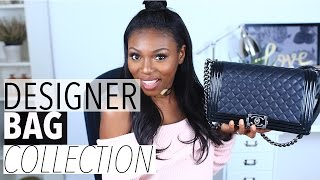 MY DESIGNER HANDBAG COLLECTION| CHANEL, CELINE, PRADA, BALENCIAGA & MORE - STYLE SPARK #1