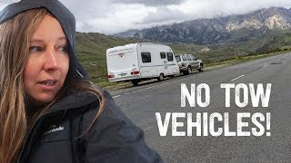 No Towing over Arthurs Pass... But Took Caravan