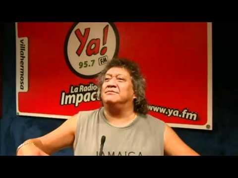 Entrevista con Jorge Falcón en Ya! FM Villahermosa