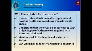 KS4 Health and Social Care