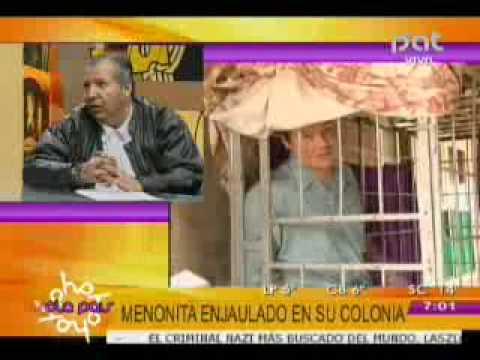 MENONITA ENJAULADO EN SU COLONIA @HOLA PAIS BOLIVIA