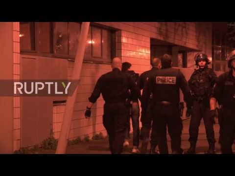 France: Cars set alight as unrest continues in Paris