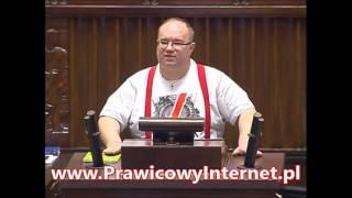 Rafał Wójcikowski (Kukiz'15) zmasakrowanie programu 500 plus