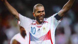 The song of Zinedine Zidane - La Chanson de Zinedine Zidane