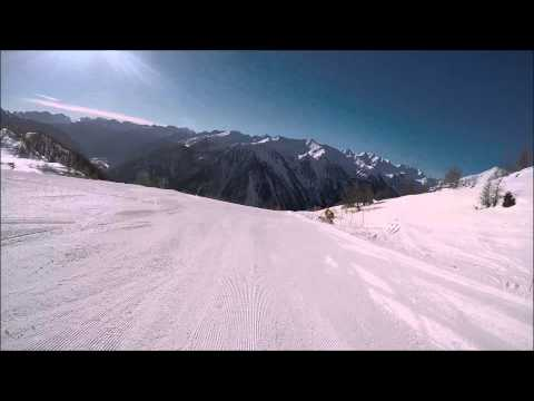 Piste da sci Pejo: pista Val de La Mite e Variante dei Monti