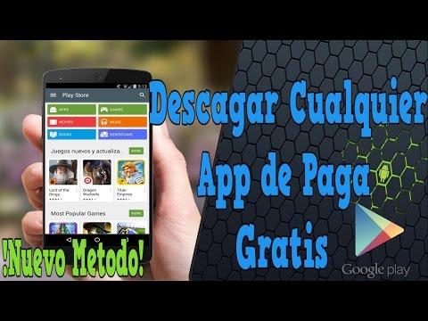 DESCARGAR CUALQUIER APP O JUEGO DE PAGA GRATIS EN ANDROID   NUEVO METODO/GOOGLE PLAY