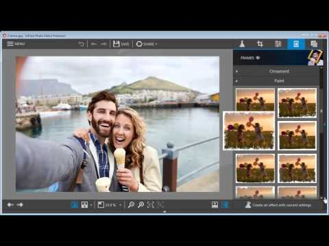 Best Photo Editing Software - InPixio Free Editor